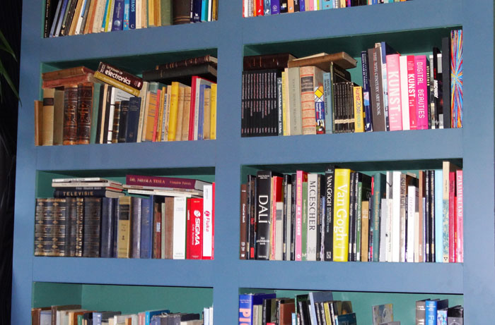 boekenkast dirk
