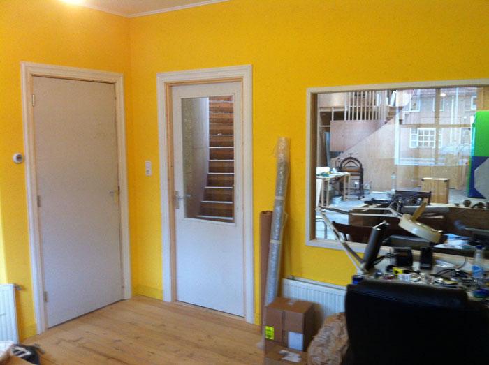 deuren gang en atelier