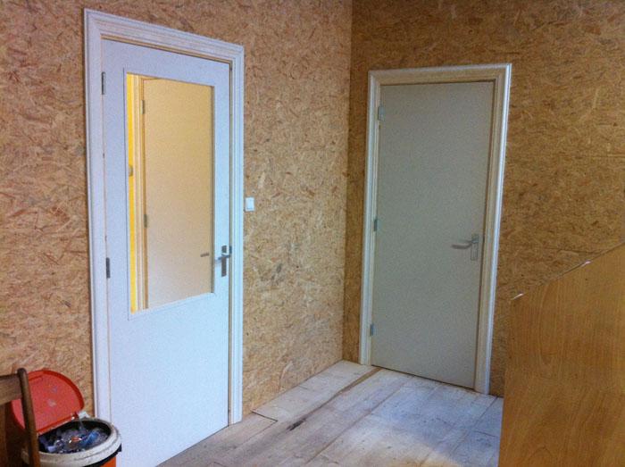 deuren kantoor en wc